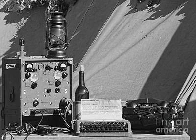 Photograph - World War Two German Portable Communication Center  by Olga Hamilton