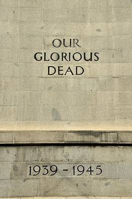 Mannequin Dresses Rights Managed Images - World War Two Our Glorious Dead Cenotaph Royalty-Free Image by Imran Ahmed