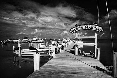 World Wide Sportsman Bayside Marina Islamorada Florida Keys Usa Art Print by Joe Fox