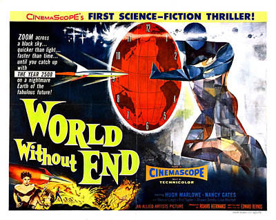 World Without End Poster Art Print by Gianfranco Weiss