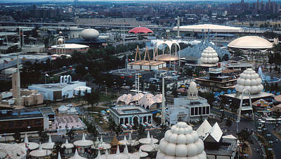 Animal Surreal - Worlds Fair 1964 pavilions by Kevin Snider