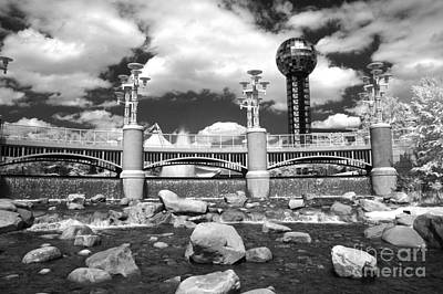 Photograph - Worlds Fair Park In Knoxville - Infrared by Paul W Faust -  Impressions of Light