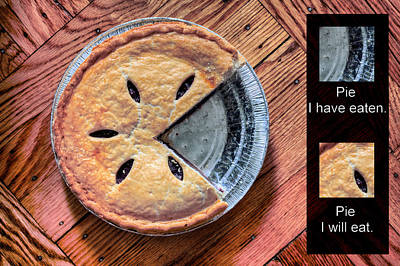 Worlds Most Accurate Pie Chart Art Print by JC Findley