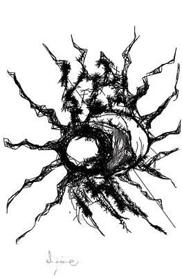 Worm Hole Art Print