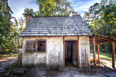 Historic Site Photograph - Wormsloe Cabin by Mark Andrew Thomas