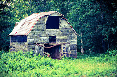 Photograph - Worn Down Barn by Gregory Ballos