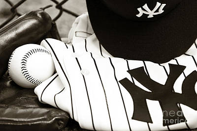 Pinstripes Photograph - Worn With Pride by John Rizzuto