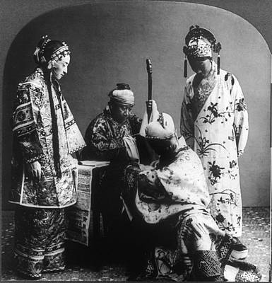 Mandarin Painting - Worship Ceremony, C1919 by Granger