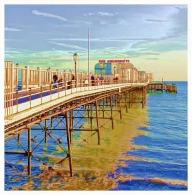 Worthing Pier Photograph By John Boud