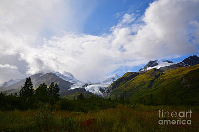 Photograph - Worthington Glacier by Kate Avery