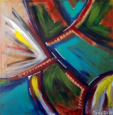 Worthy Painting - Worthy 2014 by Drea Jensen