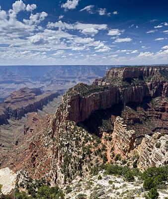 Photograph - Wotan Throne Grand Canyon by Gary Eason