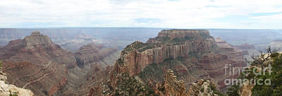 Wotans Thorne Grand Canyon Panorama Art Print by Christiane Schulze Art And Photography