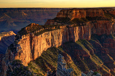 Photograph - Wotan's Throne - Grand Canyon  by Saija  Lehtonen