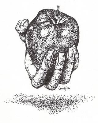 Would You Like An Apple? Art Print