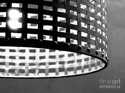 Circular Accents Photograph - Woven Metal Banded Light by Robert Yaeger
