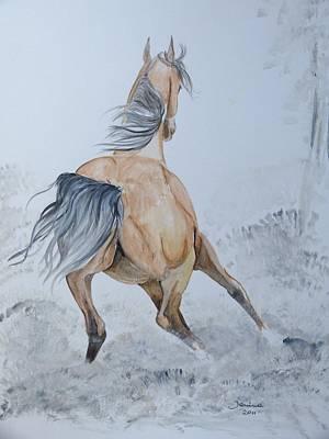 Wow Art Print by Janina  Suuronen