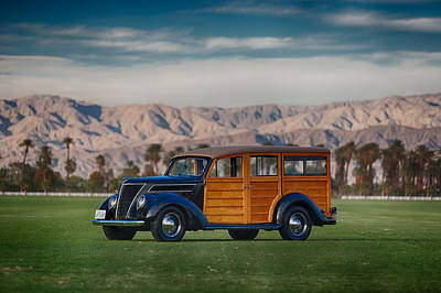 Photograph - Wow Woodie by Scott Campbell