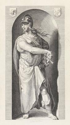 Deadly Drawing - Wrath, Christiaan Lodewijk Van Kesteren, Hendrick Goltzius by Christiaan Lodewijk Van Kesteren And Hendrick Goltzius