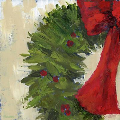 Wreath Painting - Wreath II by Pamela J. Wingard