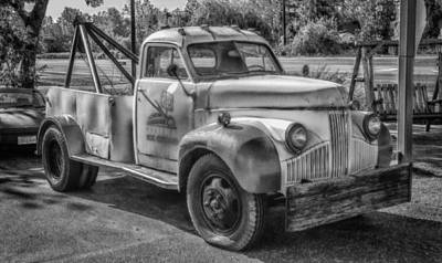 Photograph - Wrecker   7d07221h by Guy Whiteley