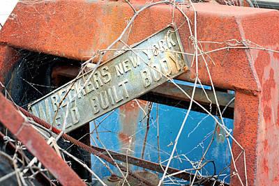 Photograph - Wreckers Weld Built Body by Michael Porchik