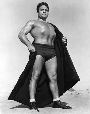Fiesta Photograph - Wrestling Champion Jim Londos by Underwood Archives