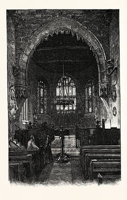 Wrexham The Choir Art Print