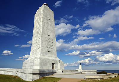 Wright Brothers Memorial D Art Print