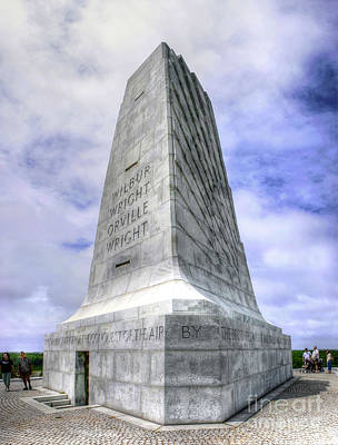 Photograph - Wright Brothers National Monument by Paul Mashburn