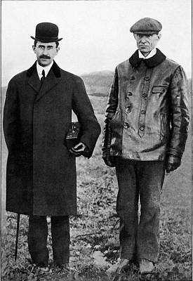 Portraits Photograph - Wright Brothers by Sheila Terry