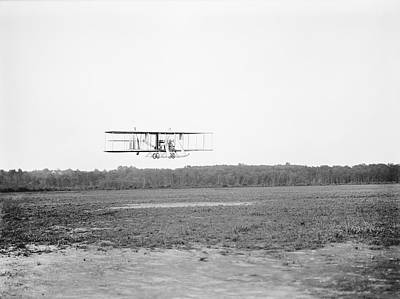 Test Pilot Wall Art - Photograph - Wright Model B Airplane by Library Of Congress