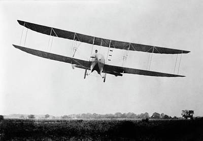 Wright Model H Airplane Print by Library Of Congress