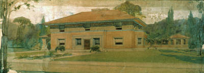 Frank Lloyd Wright Painting - Wright Winslow House by Granger