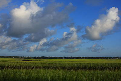 Wrightsville Beach Marsh Art Print by Mountains to the Sea Photo