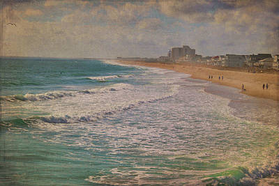 Photograph - Wrightsville Beach On A Warm Winter Day by Paulette B Wright