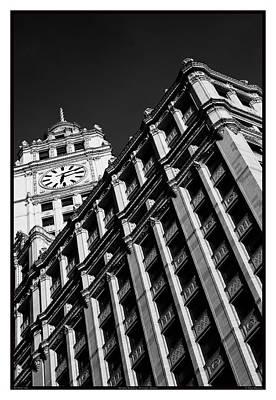 Wrigley Building - 05.16.10_144 Art Print by Paul Hasara