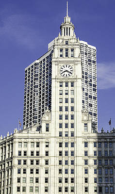 Photograph - Wrigley Building Chicago by Julie Palencia