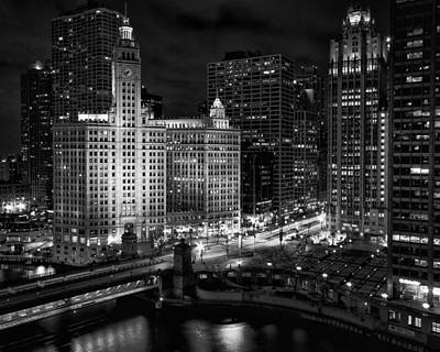 Wrigley Building In Chicago Art Print