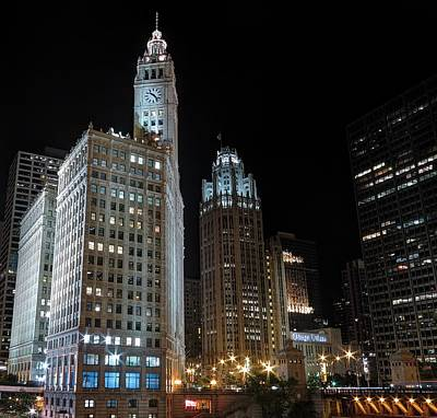 Photograph - Wrigley Building by Nisah Cheatham