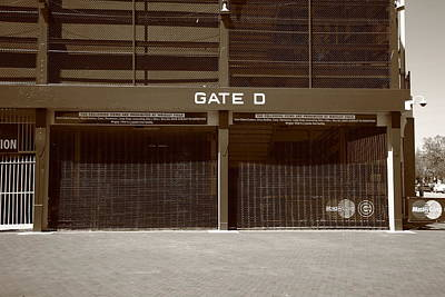 Grate Photograph - Wrigley Field - Chicago Cubs 24 by Frank Romeo