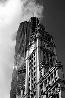 Photograph - Wrigley Tower  by A K Dayton