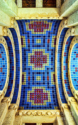 Photograph - Wrigley's Arch Of Tile By Diana Sainz by Diana Raquel Sainz