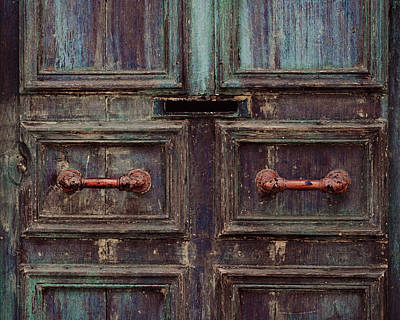 Old Door Photograph - Wrinkles by Studio Yuki