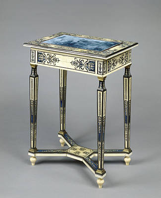 Ebony Painting - Writing Table Unknown Paris, France, Europe About 1670 - by Litz Collection