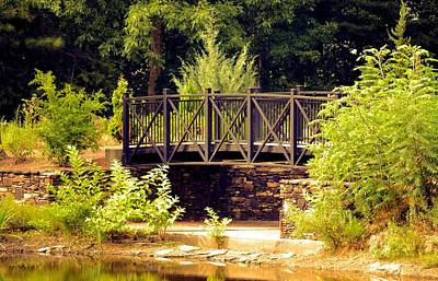 Photograph - Wrought Iron Bridge by Maria Urso