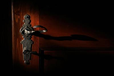 Photograph - Wrought Iron Handle by David Andersen
