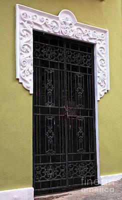 Photograph - Wrought Iron In San Juan by John Rizzuto