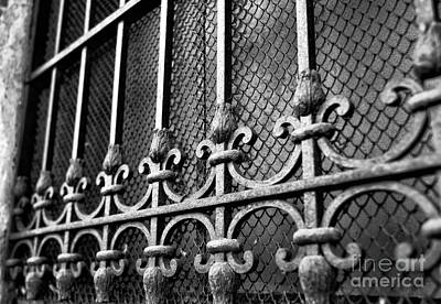 Photograph - Wrought Iron In Venice by John Rizzuto