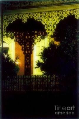 Wrought Iron Lace Art Print